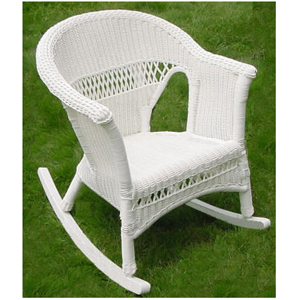 Grand Steel Rocker - White