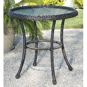 Harbor Bistro Table - Golden Black