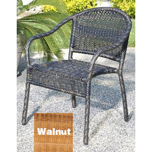 Harbor Bistro Chair - Walnut