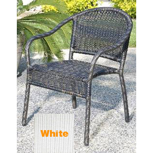 Harbor Bistro Chair - White