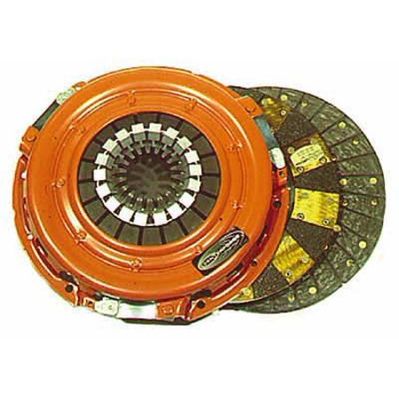 Dual Friction Clutch and Pressure Plate
