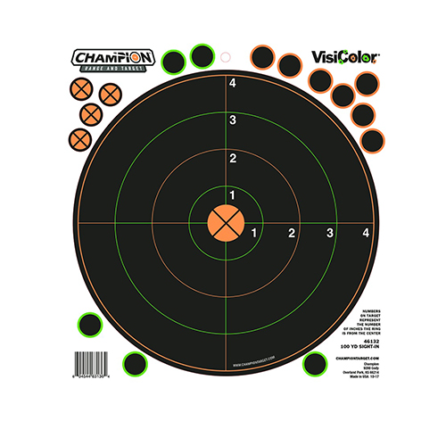 100 Yd Sight-In Tgt 5Pk W/30 Rp