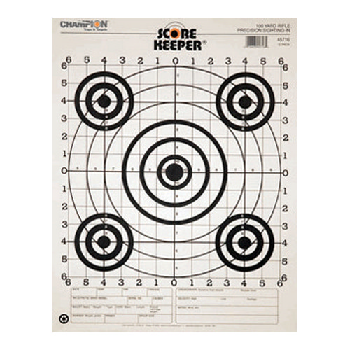 100 Yd Rifle Sightin, B/B (12/Pk)