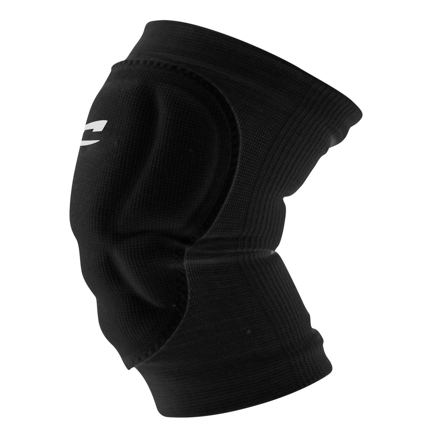 Champro Adult High Compression Low Profile Knee Pad Black