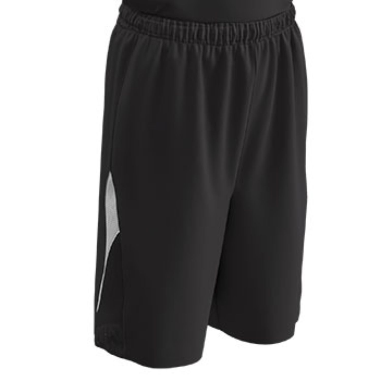 Champro Youth Pivot Basketball Short Black White Medium