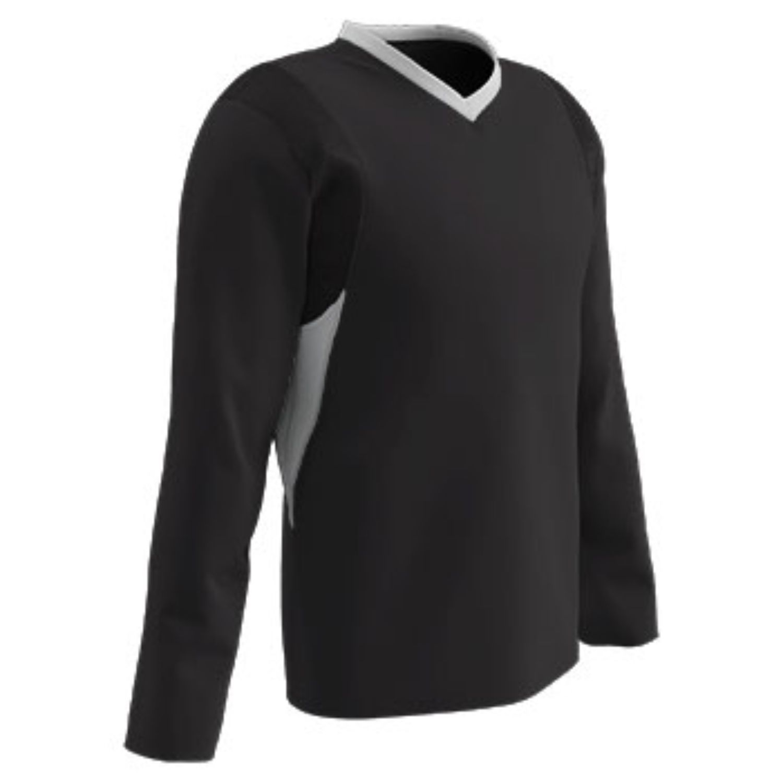Champro Adult KEY Shooter Basketball Shirt Black White LG