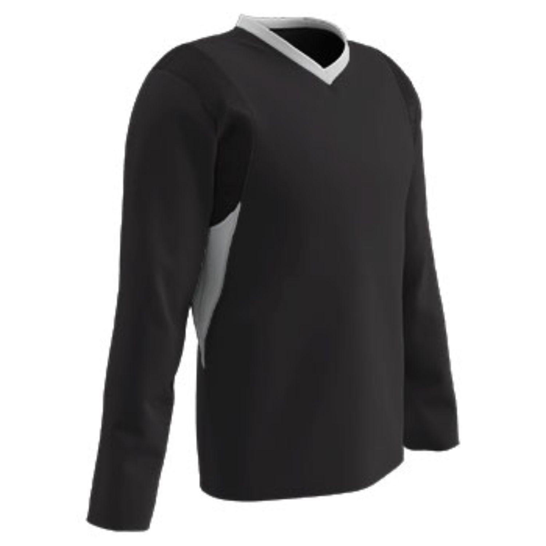 Champro Adult KEY Shooter Basketball Shirt Black White MED