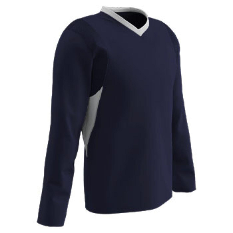 Champro Adult KEY Shooter Basketball Shirt Navy White 2XL