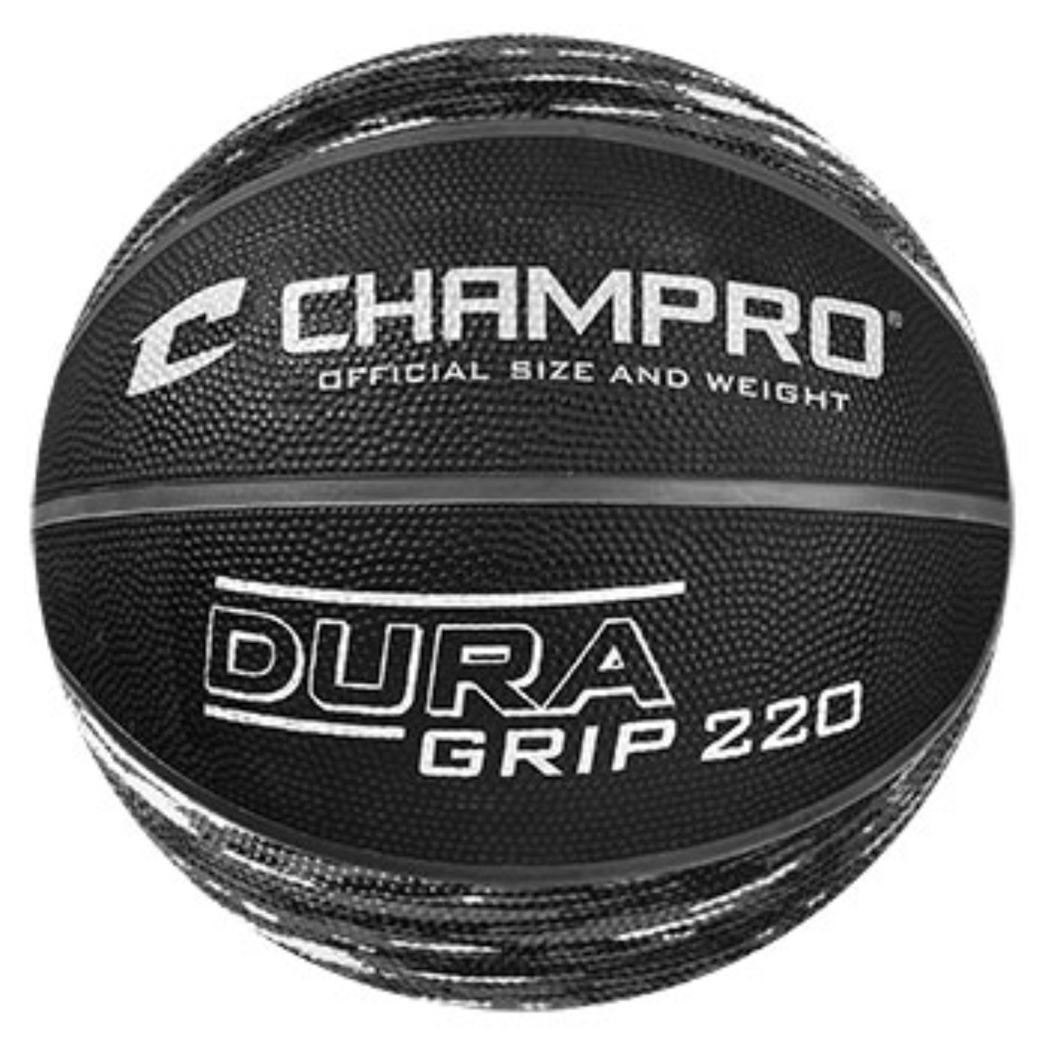 Champro Dura Grip 220 Official Size Basketball Camo Charcoal