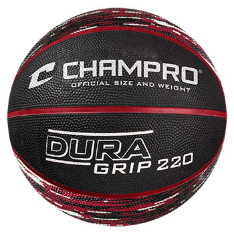 Champro Dura Grip 220 Official Size Basketball Camo Scarlet