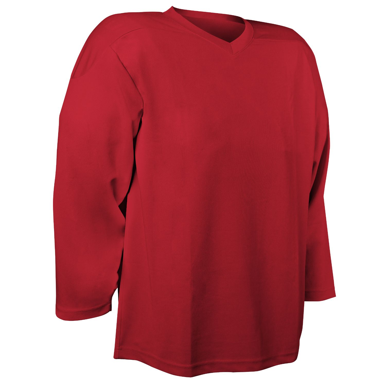 Champro Adult Faceoff Hockey Jersey Scarlet Medium