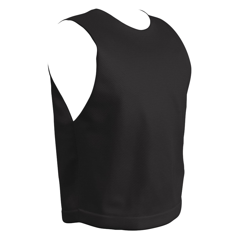 Champro Adult STICK Lacrosse Jersey Black White Medium