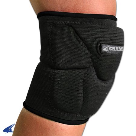 Champro Pro Plus Low Profile Knee Pad Black Large