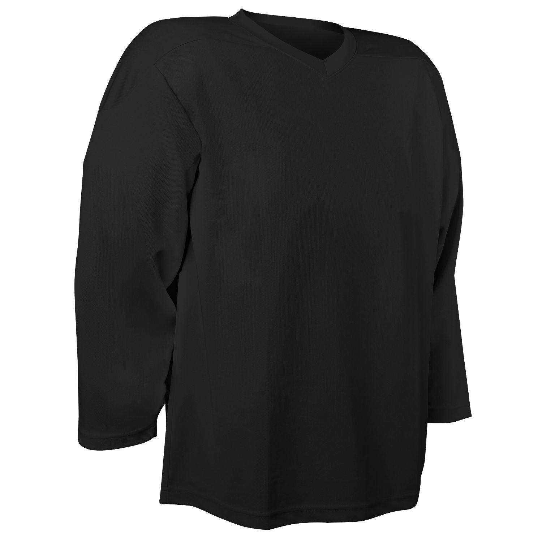 Champro Adult Faceoff Hockey Jersey Black Medium