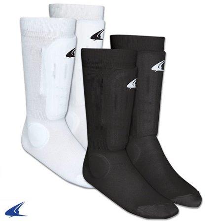 Champro Sock Style Shin Guard White Xsmall