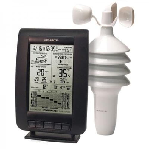 3-in-1 Pro Wireless Weather Station with Wind Speed