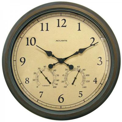 """Acu 24"""" Outdoor Clock Combo"""