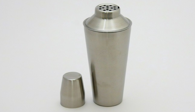 Cocktail Shaker Stainless Steel Brushed