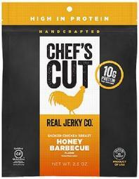 Jerky - Real Chicken Jerky Honey Barbecue ( 8 - 2.5 OZ )