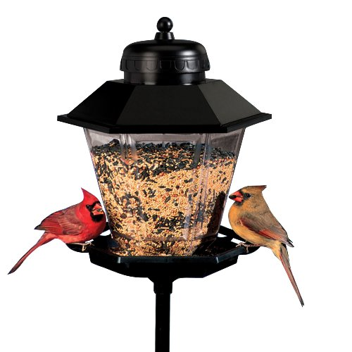 "17"" Coach Lamp Bird Feeder"
