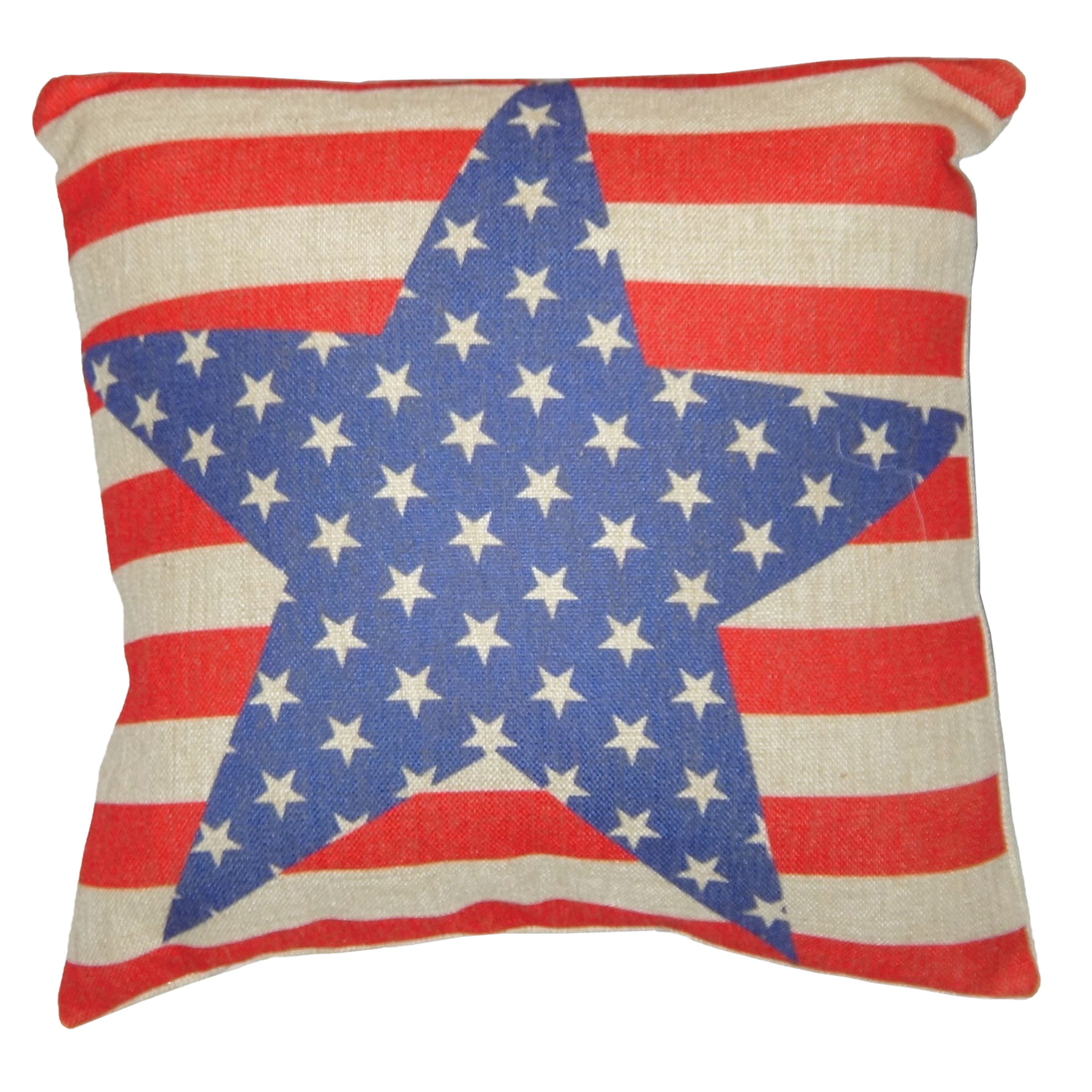 18 inch stars and stripes pillow