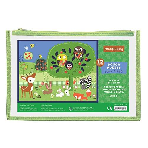 Forest Friends Pouch Puzzle 12