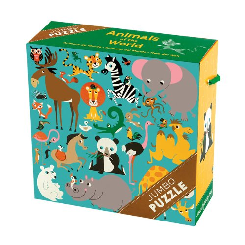 Animals of the World Jumbo Puzzle 25 pcs
