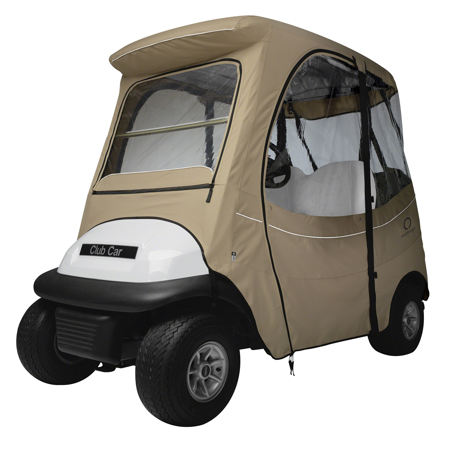 Fairway FadeSafe Club Car Precedent Enclosure/Short Rf-Khaki
