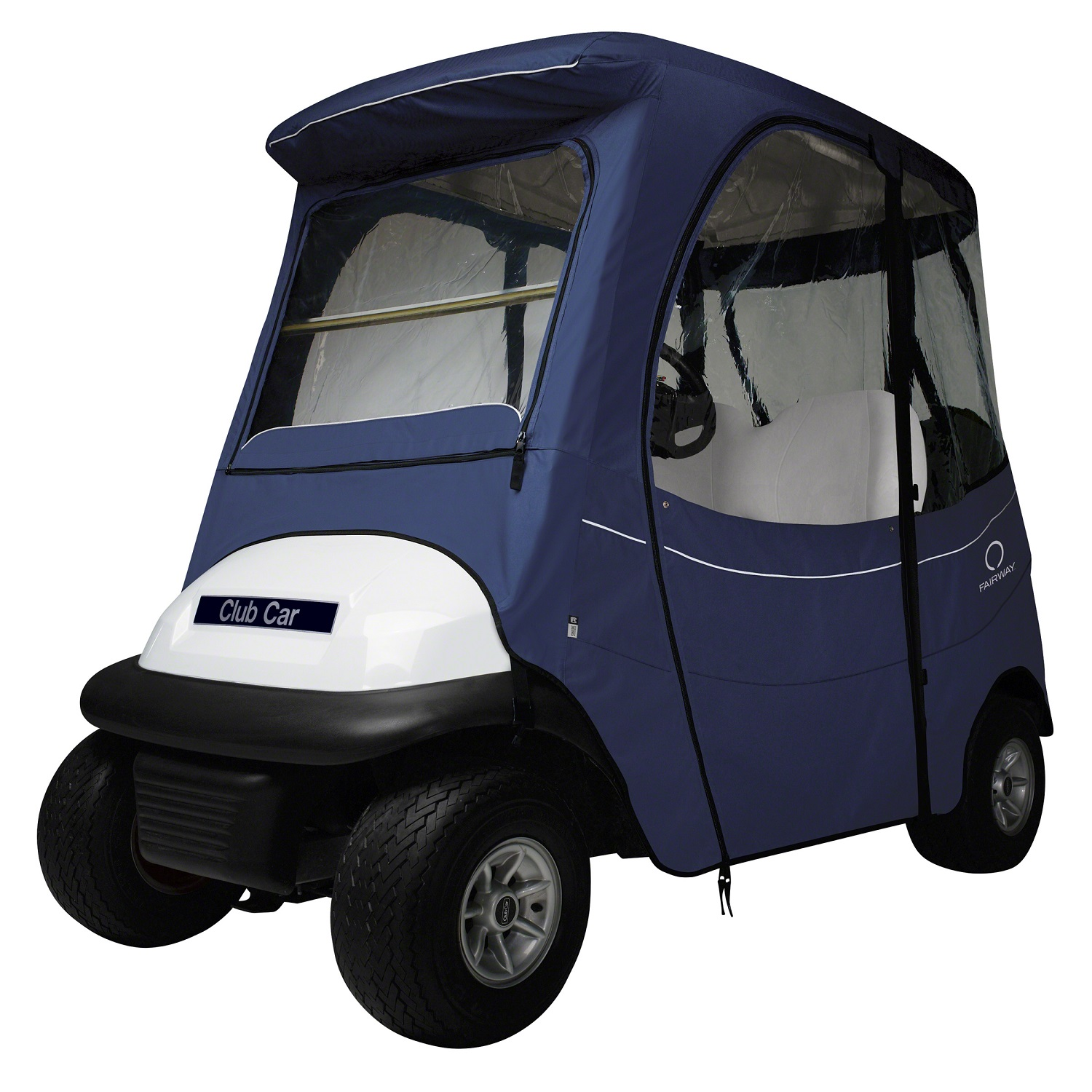 Fairway FadeSafe Club Car Precedent Enclosure/Short Rf-Navy