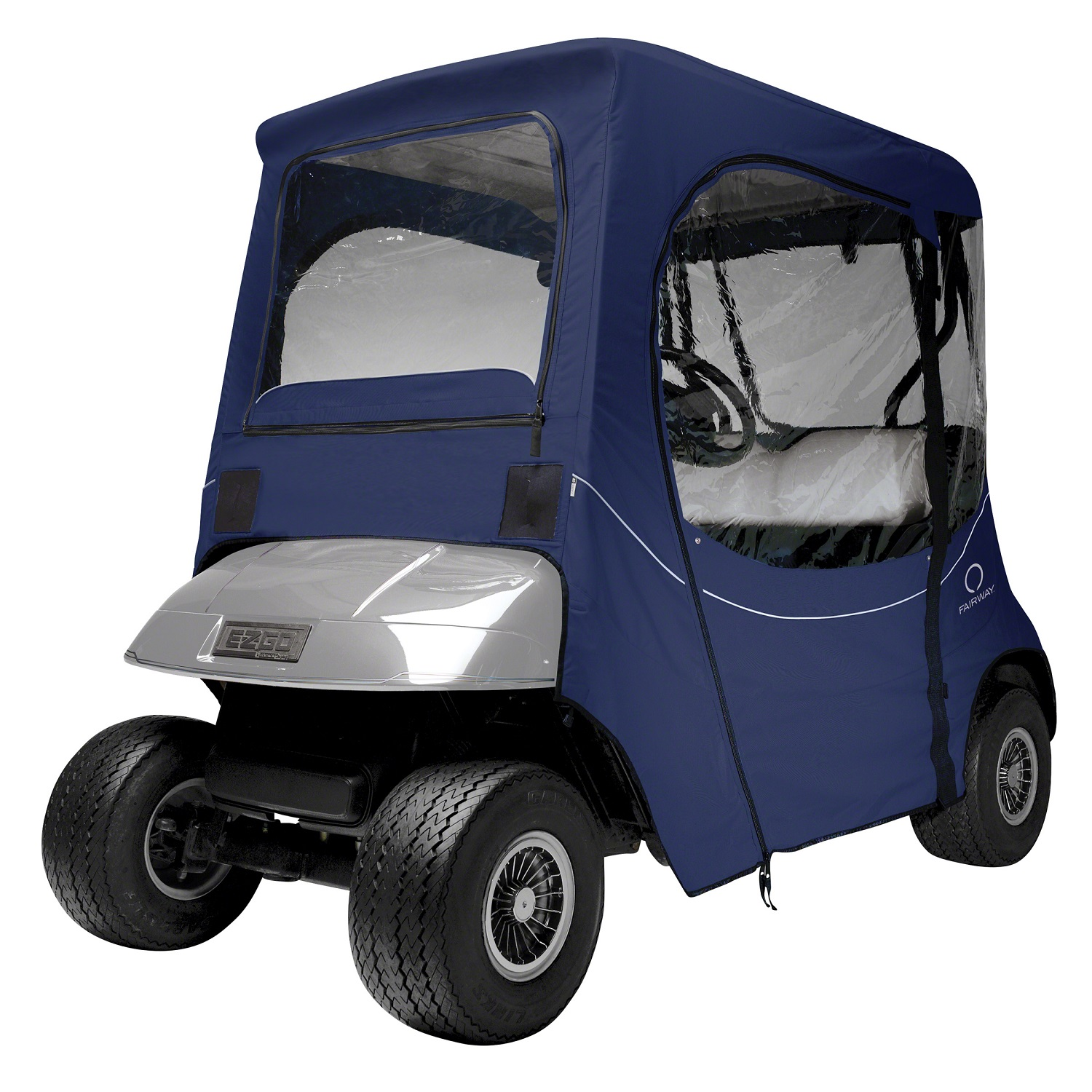 Fairway Golf Cart FadeSafe E-Z-Go Enclosure - Navy