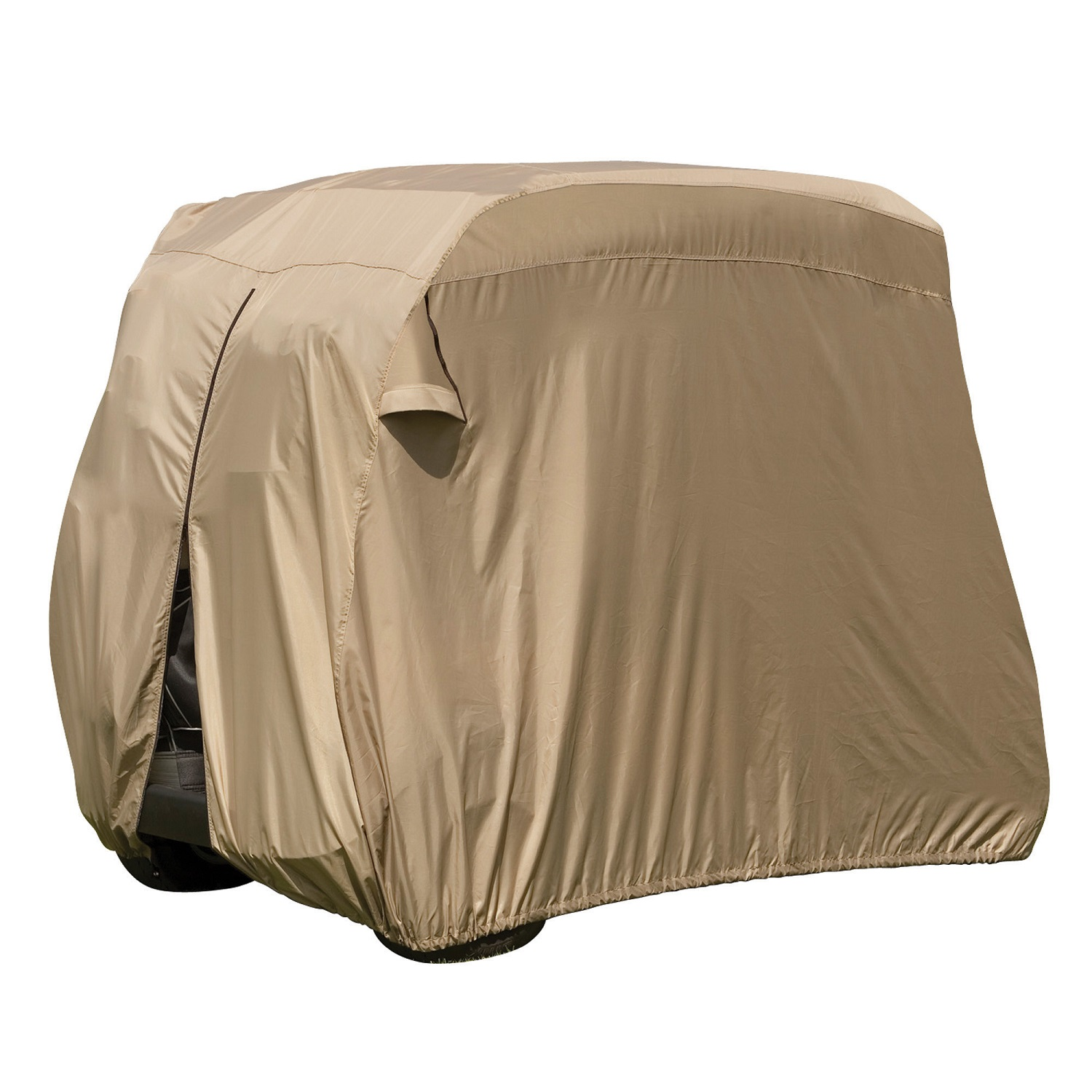 Classic Fairway Golf Cart Easy-On-Cover - Sand