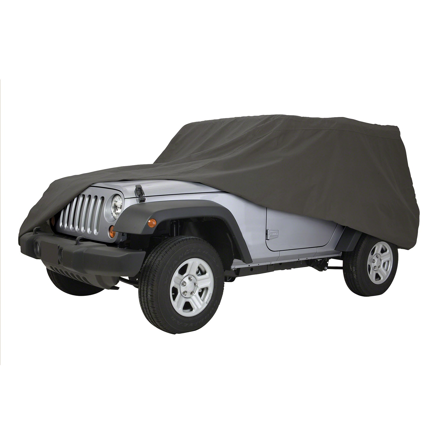 """Classic Accessories Polypro 3 Jeep Wrangler Cover 161""""Lx65""""W"""