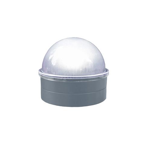 SILVER CHAINLINK SUMMIT SOLAR POST CAP