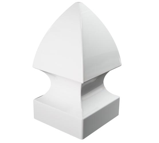 4x4 GOTHIC PVC POST CAP