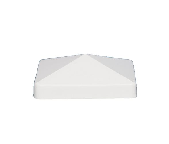 4x4 PYRAMID PVC POST CAP