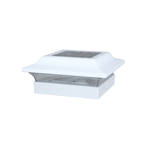 4.5x4.5 BASE IMPERIAL ALUMINUM - WHITE