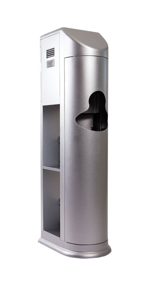 Clean Holdings Bathroom Sanitizing Station System - Silver