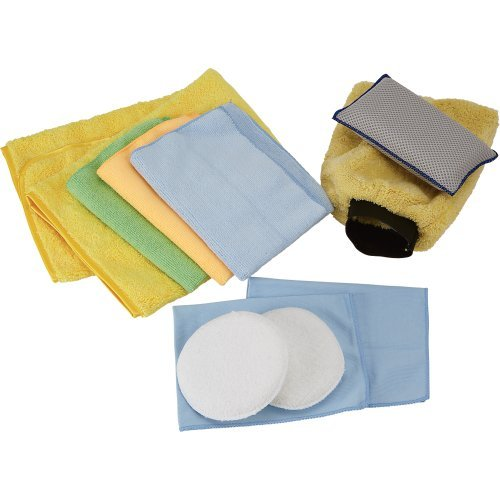 10PC CAR CLEANING KIT