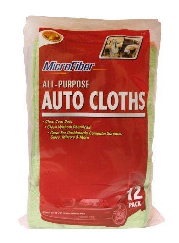 * 12PK MICROFIBER CLOTHS