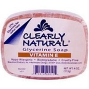Clearly Naturals Vitamin E Soap (1x4 Oz)