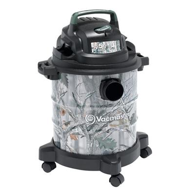 VM Wet Dry Vacuum Camo 5 Gallon 3HP