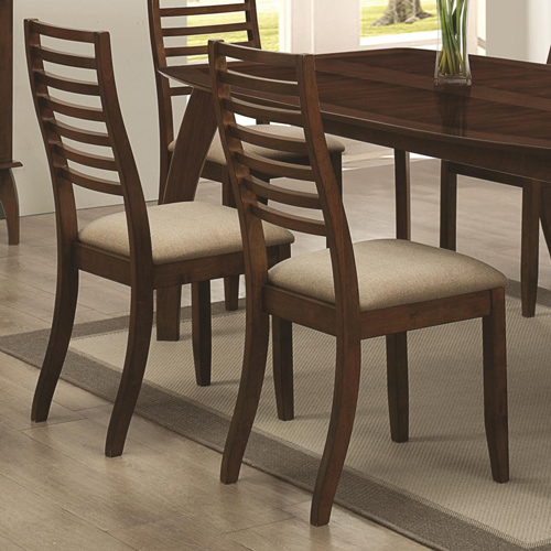 Coaster 2 Side Chairs Upholster Seat