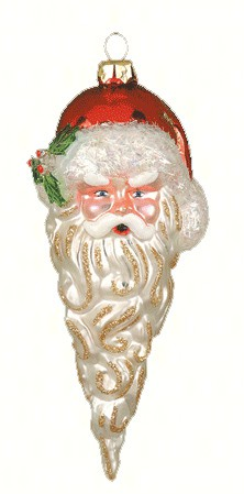 Santacicle Red Ornament