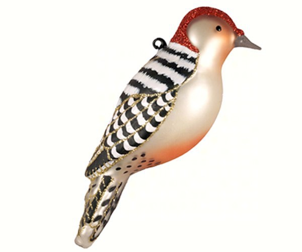 Red Bellied Woodpecker Ornament