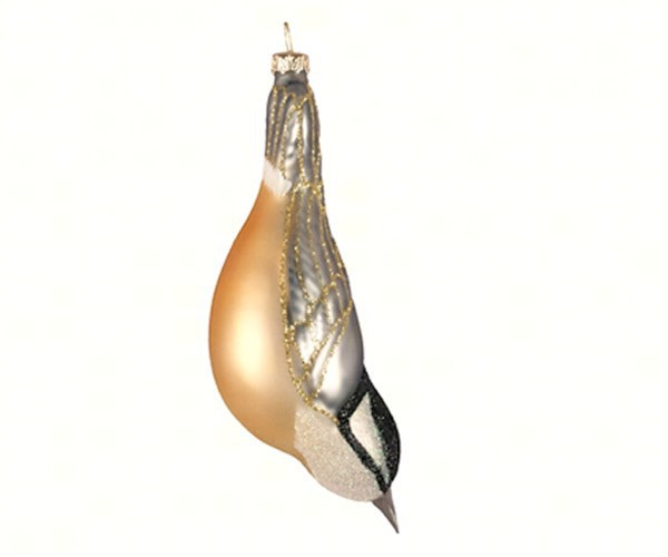 Rose Breasted Nuthatch Ornament