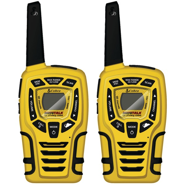 Cobra CX445 28-Mile 2-Way Radio, 2 pk
