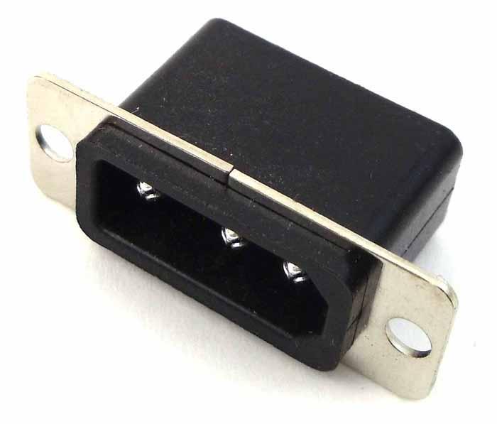 3 PIN PANEL DC POWER JACK FOR COBRAQ 25/29/148