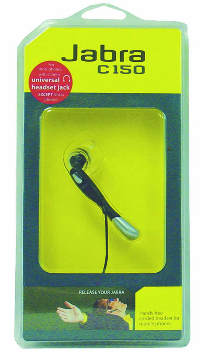 UNIVERSAL HANDS FREE CORDED HEADSET W/2.5 PLUG