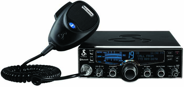 DELUXE CB RADIO WITH BLUE TOOTH,SWR,NOAA,RF GAIN