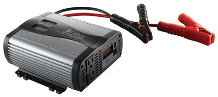 1000/2000 WATT 2AC PWR INVERTER W/USB PORT/BATT CB